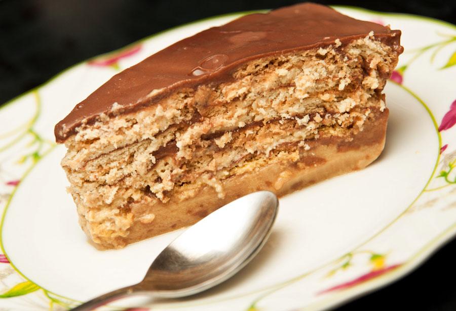 Pastel Helado De Galletas Marias Con Cafe Acerca De Helado